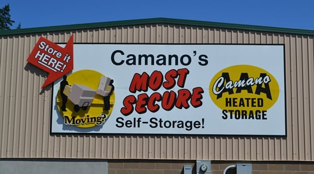 Camano Island, WA storage unit rental