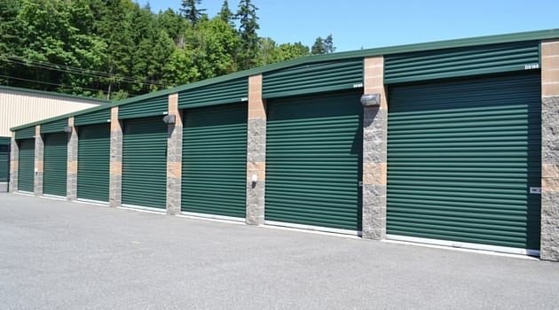 AAA Camano Heated Storage features drive up storage units