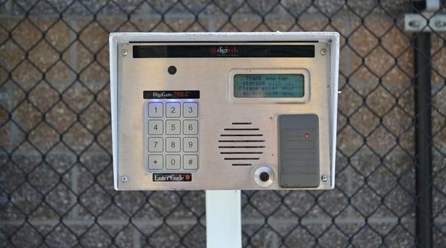 Digital security access AAA Camano Heated Storage