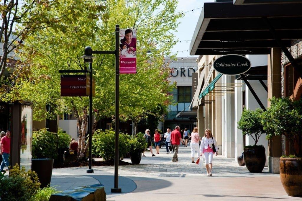 Alderwood Mall in Lynnwood, WA