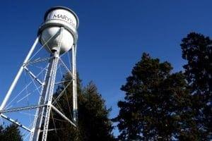 water tower in marysville wa