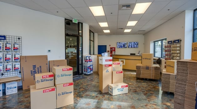 West Coast Self-Storage Columbia City boxes and moving supplies