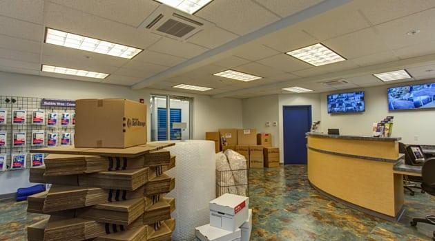 Our Lake Oswego storage rental office