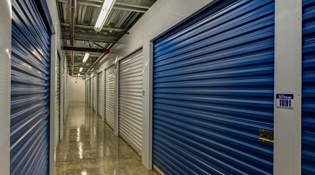 Variety of storage unit rental sizes