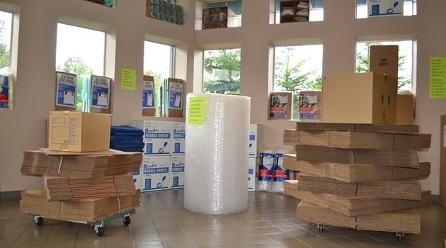 moving supplies in Redmond, WA