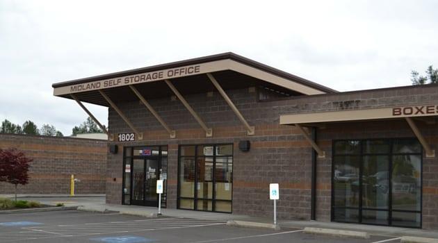 Midland Self Storage 1802 112th St E, Tacoma, WA storage units -1