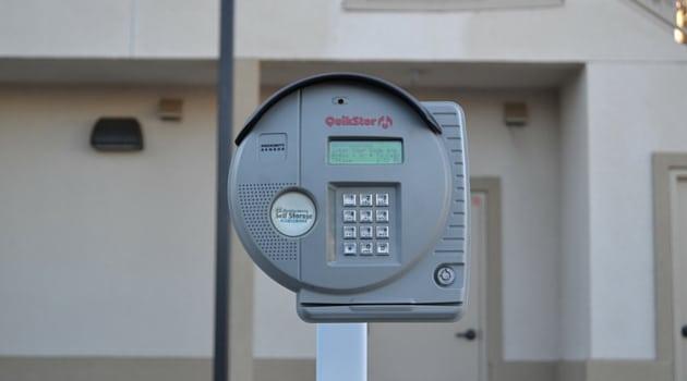 Digital keypad secure access storage