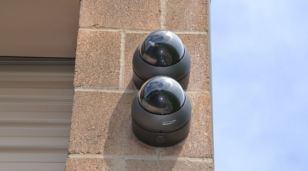 North Plains storage facility equipped with digital security cameras