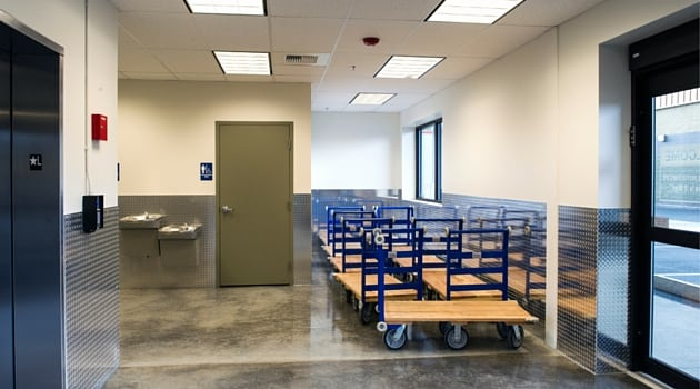 Red Way Self-Storage has convenient moving carts