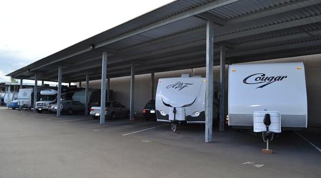 Covered RV storage Kent, WA
