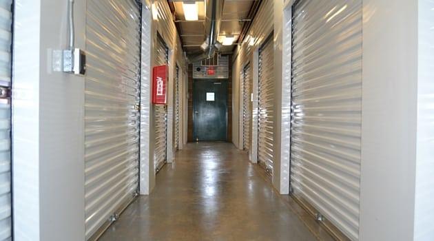 Interior heated storage in Kent, WA