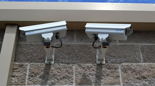 Safeguard Self Storage Kent features digital security video