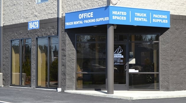 Storage rental office Sound Storage Lynnwood