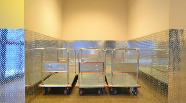 Convenient moving carts