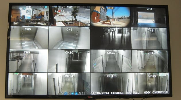 Digital video security monitors