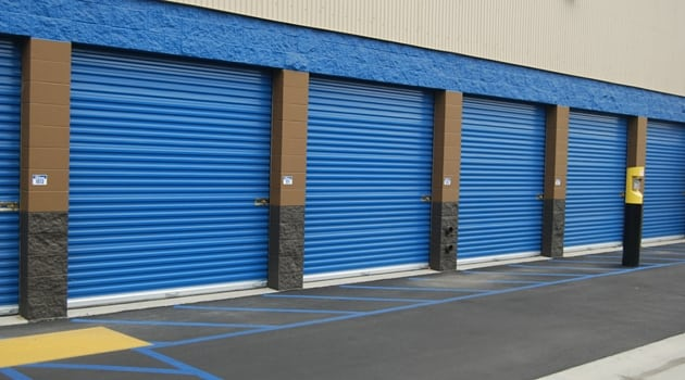 Variety of storage sizes at our San Pedro, CA facility