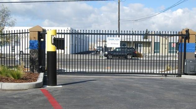 Secure gate access
