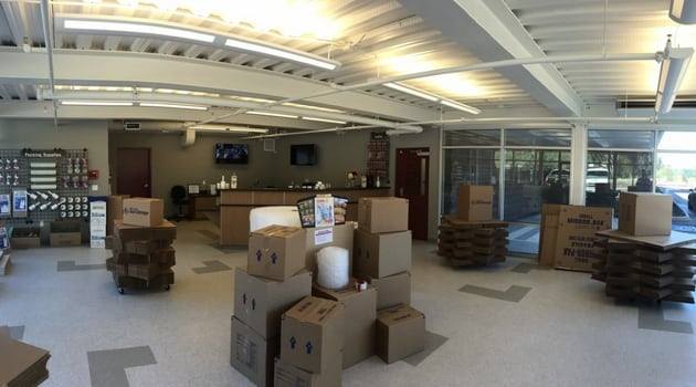 moving boxes in Lacey, WA at Armor Storage