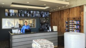 Storage unit rental office West Coast Self-Storage in Bellevue, WA