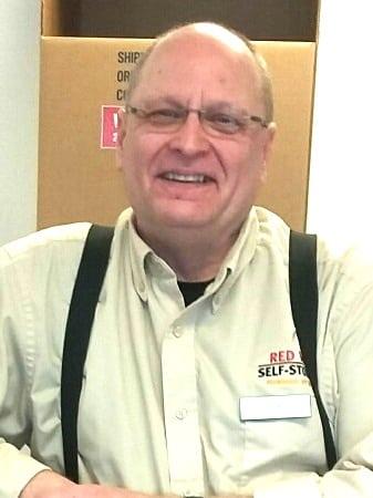 closeup of Rick Bell Redway Self Storage - Redmond WA