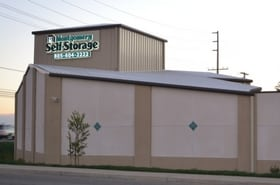 Montgomery Self-Storage Oxnard, California storage map