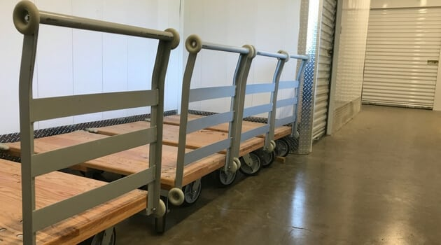 Moving carts for your convenience