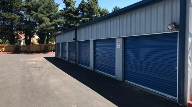 Drive up access storage West Coast Self-Storage Beaverton