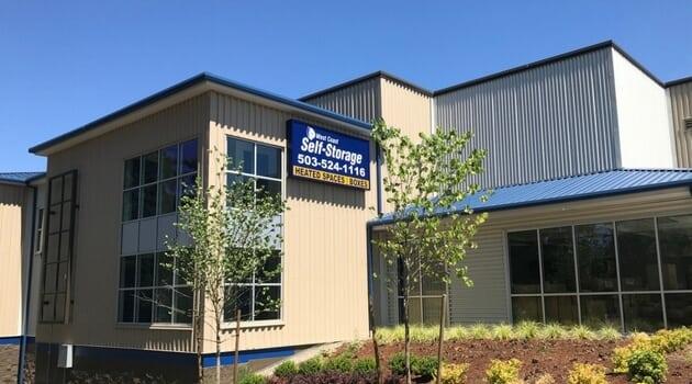 West Coast Self-Storage Beaverton, easy access on SW 125th Ave