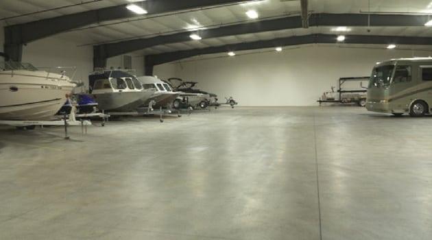 Broadmoor Storage Solutions 9335 Sandifur Parkway Pasco, WA 99301- rv and boat storage inside