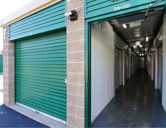 Easy access ground level storage in Kent, WA at Safeguard Self Storage