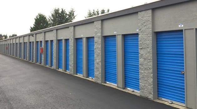 storage unit garage doors