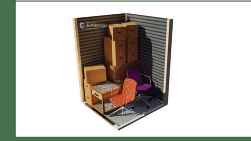 5' x 5' storage unit