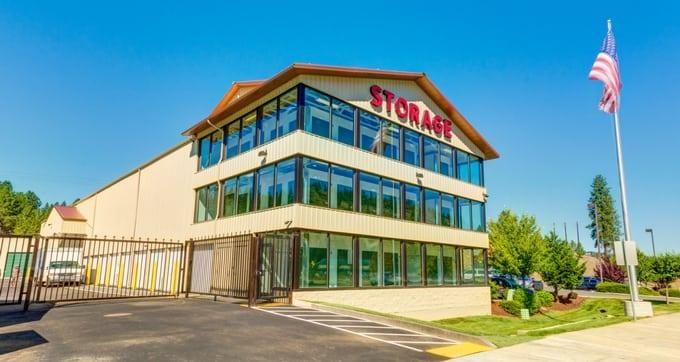 Exterior of Storage Solutions Spokane
