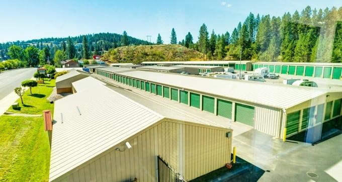 Storage Solutions drive up access storage units in Spokane, WA