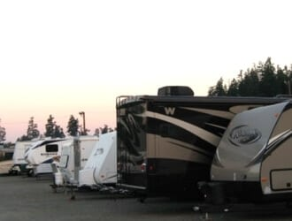 Photo of RV storage at Maple Valley Mini Storage