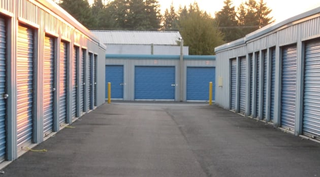 Storage units at Maple Valley Mini Storage