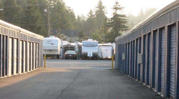 RV storage at Maple Valley Mini Storage