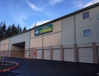 Heated self storage units Poulsbo, WA