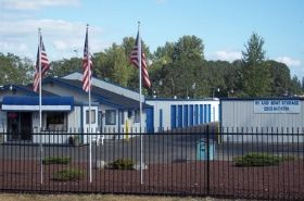 Safe Place Storage, Spanaway ,Washington storage units map