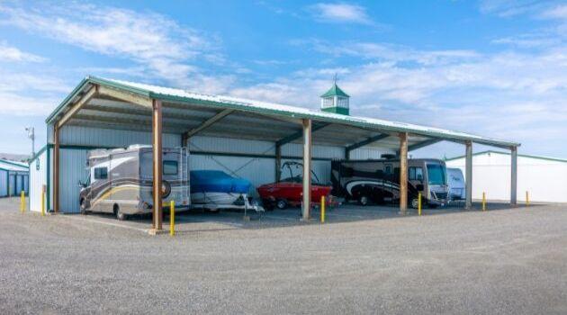 Richalnd Airport Mini-Storage, 2008 Butler Loop, Richland, Washington 99354 RV storage 1