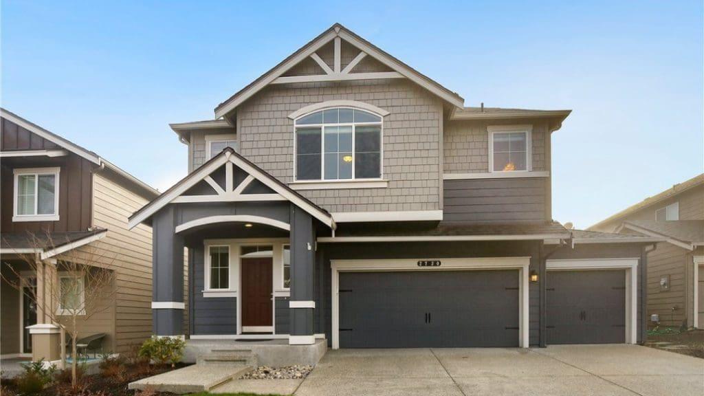 home in Gateway II neighborhood