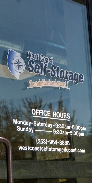 dupont washington storage units west coast self storage dupont