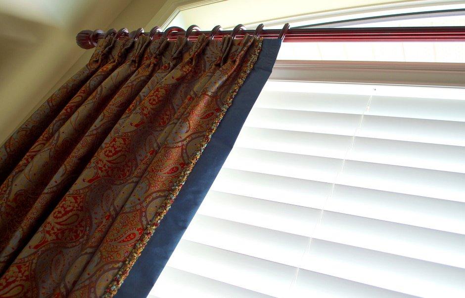 drapes open