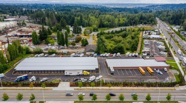 Rv storage at Federal Way Supreme Self Storage 35200 Pacific Hwy S, Federal Way, WA 98003
