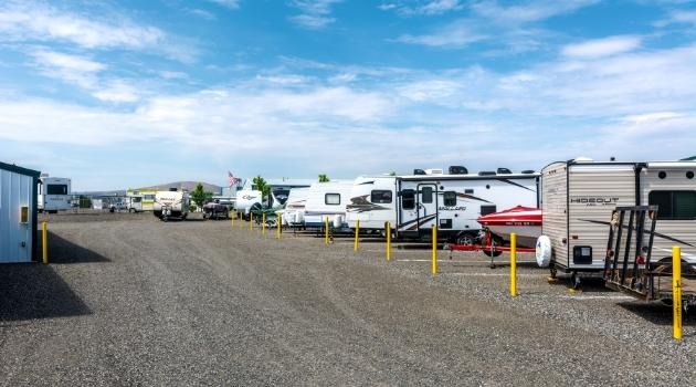 RV Storage at Richland Airport Mini Storage, Richland, Washington