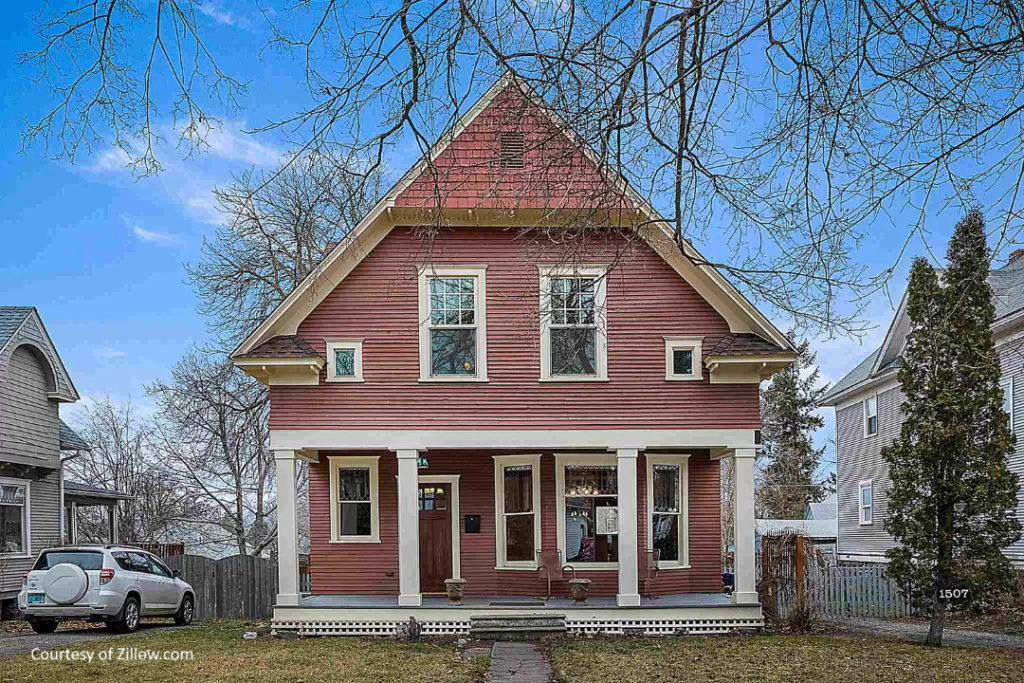 house in south perry neighborhood of spokane