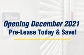 West Coast Self-Storage Lacey, Washington storage units opening December 2021