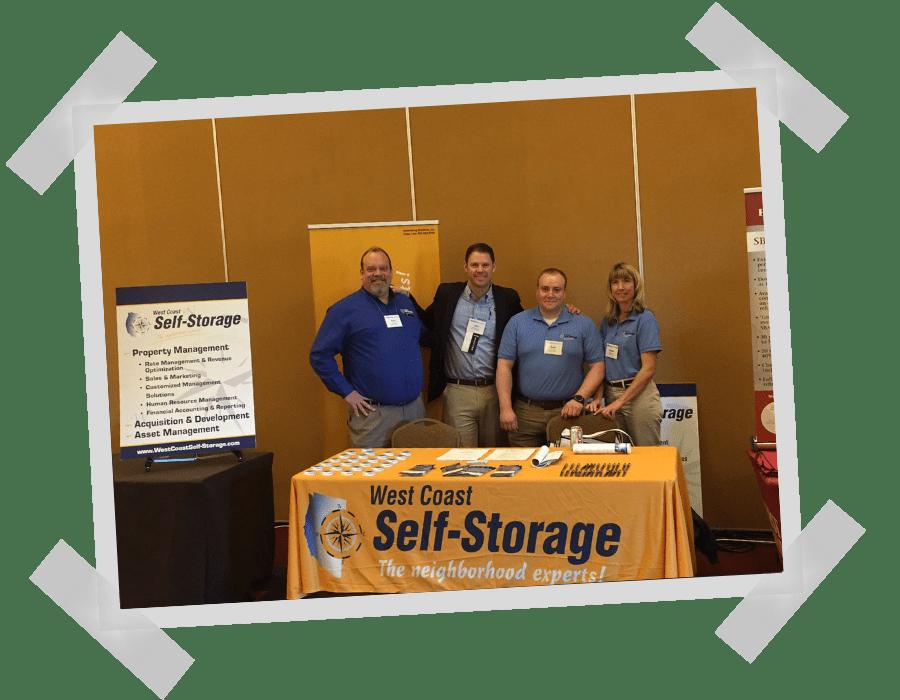 West Coast Self-Storage team at WASSA event