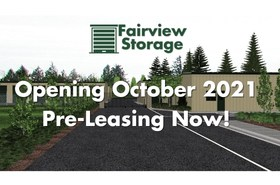 Fairview Storage, Opening October 2021